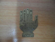 5x KABALLAH Names HAMSA Chamsa Hand Blessing Copper Talisman! חמסה
