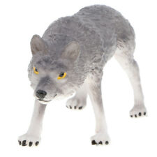 Simulation Animal Sauvage Figurine Loup
