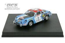 ALPINE renault a110-rallye tour de Corse 1973-Nicolas - 1:43 trofeu 0813