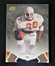 2011 UPPER DECK EXQUISITE EARL CAMPBELL #27/75 TEXAS #29