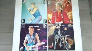 4 Volumes Parc Des Princes 1993 Picture Disc Neuf Johnny Hallyday