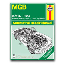Haynes Repair Manual for 1962-1980 MG MGB - Shop Service Garage Book ol