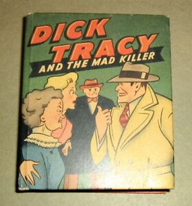 DICK TRACY AND THE MAD KILLER,Big/Better Little Book 1436,WHITMAN,1947,VF++,Rare