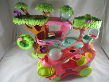 Littlest Pet Shop Magic Motion Treehouse and Paw Powered Cruiser Hamster Wheel.