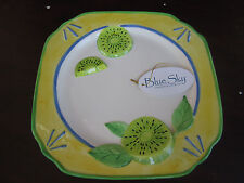 BLUE SKY Kiwi Plate NEW IN BOX Decorative Plate