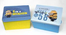 24 X MINION STORAGE BOXES/TOY CHESTS/BLANKET BOX FROM DESPICABLE ME 91414