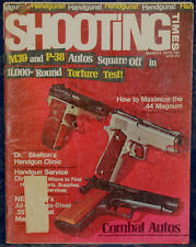 Magazine SHOOTING TIMES, March 1973 SMITH & WESSON Stainless.357 Magnum REVOLVER