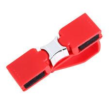 Praktisch Brillenhalterung Brillenhalter Gl?ser Halterung + 2 Clip für Auto Rot