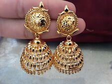 22 k gold plated asian Jumki Earrings set