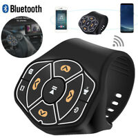 Wireless Car Steering Wheel Remote Control Bluetooth Multimedia Player Button