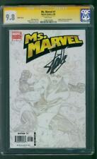 Ms Marvel 1 Michael Turner Sketch Variant CGC SS 9.8 Stan Lee 5/06 Larsen Movie