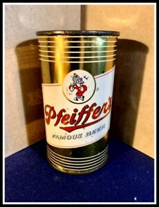 PFEIFFER'S FAMOUS FLAT TOP Beer Can, PFEIFFER, DETROIT, MICHIGAN, USBC 114-30