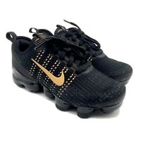 Nike Air Vapormax Flyknit 3 GS - Black/Gold (BQ5238-004) - Size 5Y