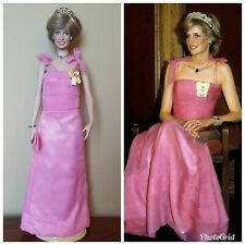 "Princess Diana 18"" Doll Pink Gown"