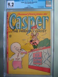 Casper the Friendly Ghost #10 File Copy CGC 9.2 1st app Spooky - Highest Graded