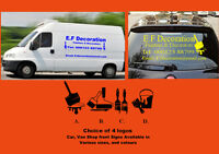 Car & Van & shops Vinyl Sign Writing Web Site,Signs Stickers Decals Personalised