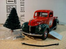 FRANKLIN MINT 1940 FORD PICKUP.1:24.RARE 1996 1ST CHRISTMAS TRUCK LE.MIB.READ ON