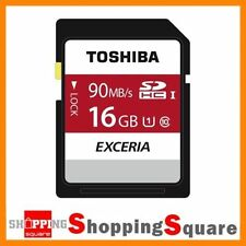 Toshiba SDHC UHS-I 16GB Camera Memory Cards