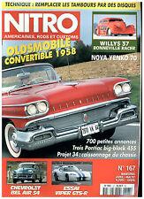 NITRO n°167 OLDS CAB'58/CHEV BEL AIR'54/PONTIAC BIG BLOCK/CHEV NOVA+ poster