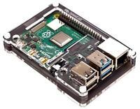 Pibow Coupe 4 Case for Raspberry Pi 4 B, Ninja Black - PIMORONI