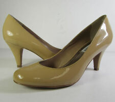 Leather Kitten Heels Solid Shoes for Women