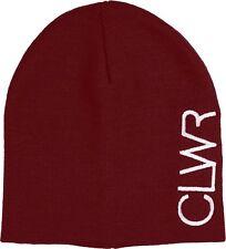 wearcolour ( CLWR ) logo ski / snowboard Bonnet, taille unique Bordeaux
