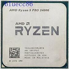 AMD Ryzen 5 2400G PRO Desktop Socket AM4 Integrated graphics CPU Processors