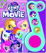 Hasbro My Little Pony The Movie Play-A-Song Sing Along Picture Sound Music Book