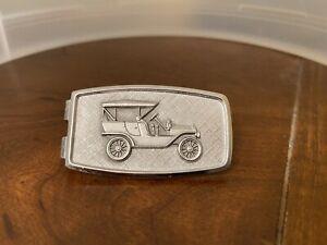 Anson Sterling Silver Money Clip Car