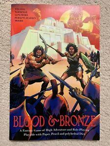 Blood & Bronze Fantasy Roleplaying Game
