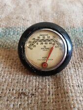 Vintage auto Thermometer, TEL-TRU GM  Ford,  Mopar.