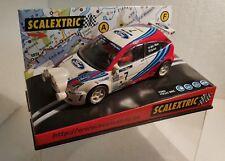 qq 6026 SCALEXTRIC FORD FOCUS WRC MONTECARLO 99  #7 Mc RAE FARERA