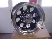 16X8 ION 171  BLACK 8 LUG, BAJA/MICKEY STYLE  CHEVY FORD DODGE WHEEL W/ CAP