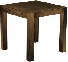 Esstisch Holz Pinie massiv 80 x80 Farbton Eiche antik Restaurant Tisch Rio Kanto