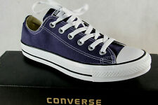 Converse All Star Trainers Lace Up Trainers Blue M9697C New