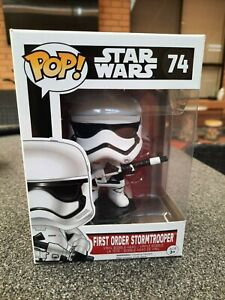 Funko Pop Vinyl Star Wars First Order Stormtrooper (Heavy Artillery) Exclusive