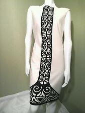 NINE WEST Black/White Dress Retailed $128. ~Size 08