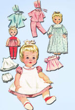 1960s Original Vintage Butterick Sewing Pattern 9994 20 In Baby Doll Clothes Set