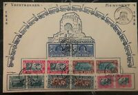 1949 South Africa First Day Souvenir Oversized Cover FDC Voortrekker Monument