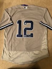 Alfonso Soriano Signed New York Yankees Jersey Beckett BAS Coa Autographed