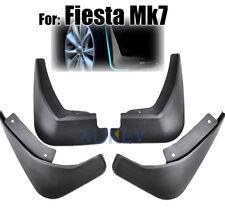 Set For Ford Fiesta Mk7 Hatchback 2009-2017 Mud Flap Splash Guards Mudguards