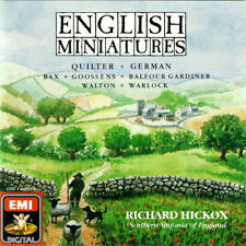 Richard Hickox,Northern Sinfonia Of England* ‎– English Miniatures **NO CASE**