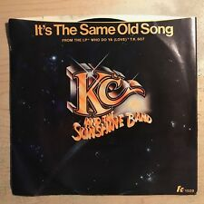 "KC & The Sunshine Band ""It's The Same Old Song"" 1978 TK Records 7 Inch Single NM"