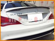 M-Benz W117 CLA180 CLA200 CLA250 P-Type Carbon Fiber Trunk Spoiler Lip 2013-2016