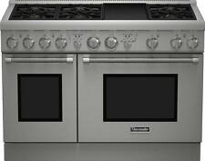 Thermador PRG486GDH Stainless Steel 48 in. Gas Kitchen Ranges - Silver