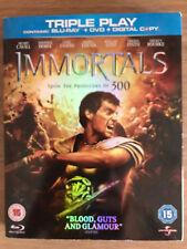 Henry Cavill immotals 2011 Acción Epic GB BLU-RAY + DVD CON FUNDA