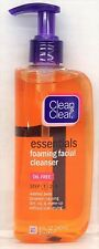 Clean & Clear Essentials Foaming Facial Cleanser 8 oz and