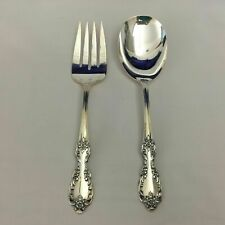 Wm Rogers Mfg Co Grand Elegance Extra Plate Original Fork & Casserole Spoon Lot