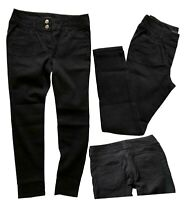 NEW! NEXT Ladies Black High Waisted Lift, Slim Shape Straight Jeans 8-14 R L XL