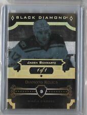 2017-18 Upper Deck Black Diamond Single Diamond relic 1/1 Jaden Schwartz